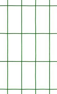 Garden Zone 48x100 Green Vinyl 2x4 14-Gauge Garden Fence