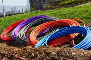 When tilling beware of underground wires