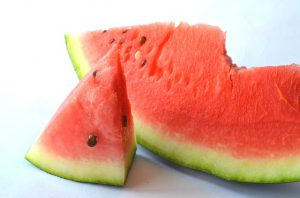 sweet juicy cold watermelons