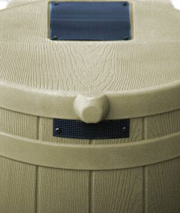 Good Ideas RW50-KHA Rain Wizard Rain Barrel 50-Gallon, Khaki
