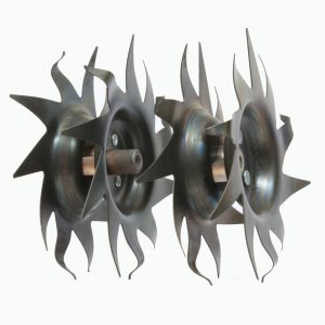 Tines for electric tillers