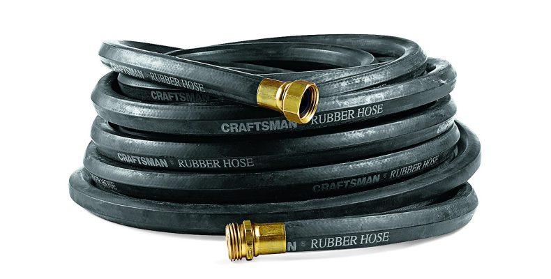 Garden hose reviews my decision always buy lifetime - Craftsman premium rubber garden hose ...
