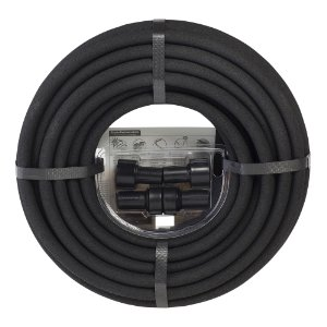 Miracle Gro MGSPA38050CC Premium Soaker Hose with Fittings, 50-Foot x 3/8 Inch
