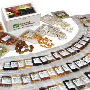 135 Variety Premium Heirloom Seed Bank