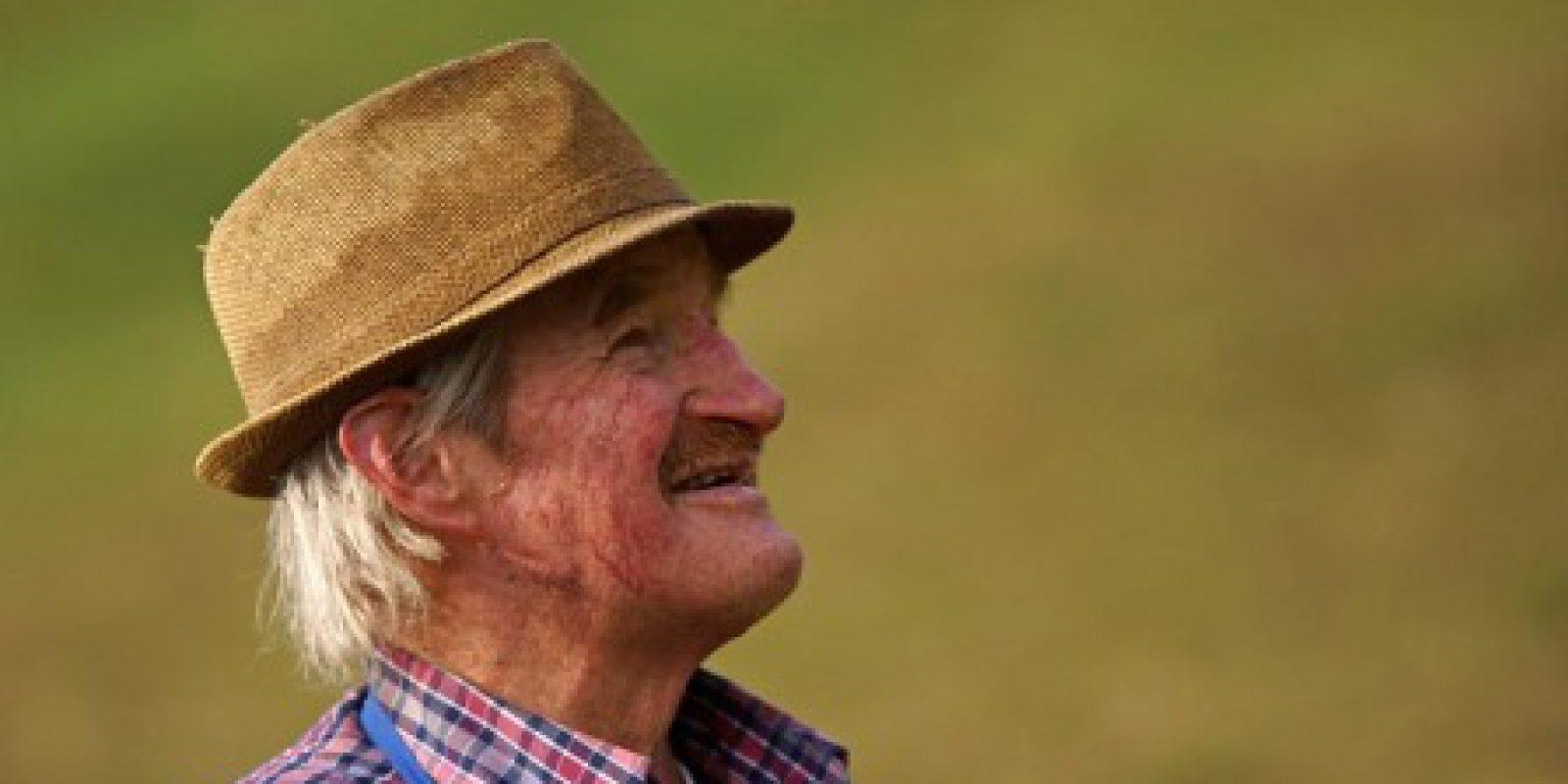 My neighbor, Jed, the retired farmer.