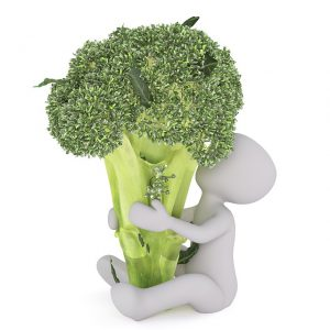 I liked broccoli as a child.