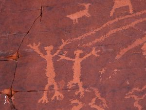 Spirit Cave drawings.