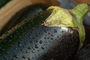 Eggplant is a healthy fruit!