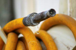 Jim, the lifelong gardener, has some leaky garden hoses to fix.