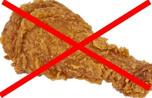 Do not put meat, chicken, or fish in a compost pile.