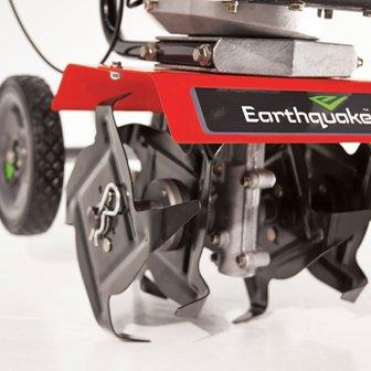 Adjustable tilling width and depth.