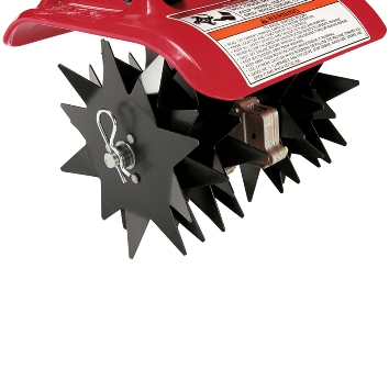 FG110 digging tines attachment for extra hard dirt.