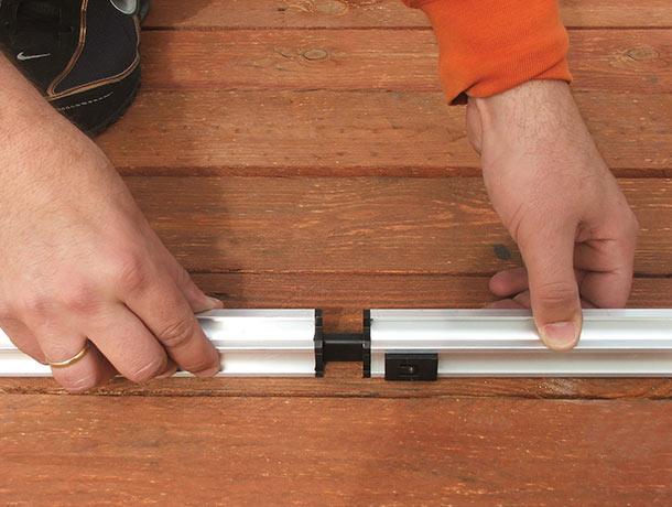 Palram's patented Smart-Lock technology.