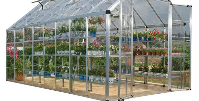 Palram Silver Snap and Grow Greenhouse 701525