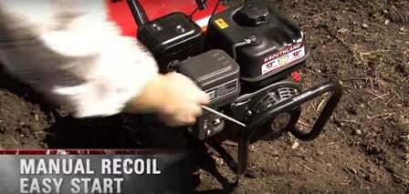 Southland SRTT196E manual recoil.