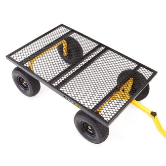 Gorilla GOR1400-COM Heavy-Duty Steel Utility Cart