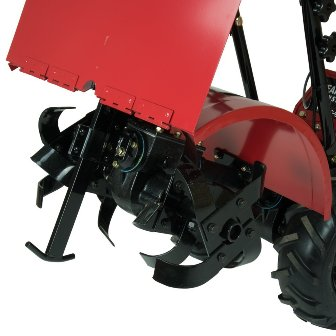 Southland SRTT196E depth regulator behind tines.
