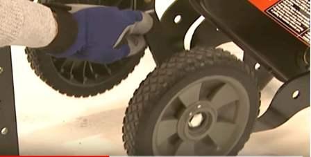 FT900-CA has 5 inch wheels.
