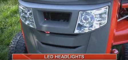Snapper SPX 23/42 LED headlights
