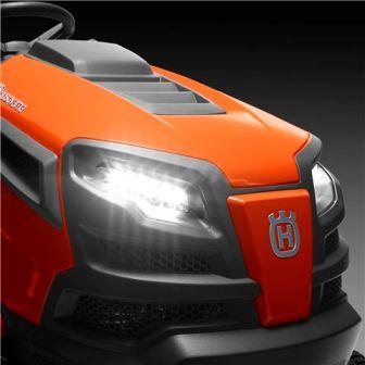 Husqvarna GTH52XLS LED headlights