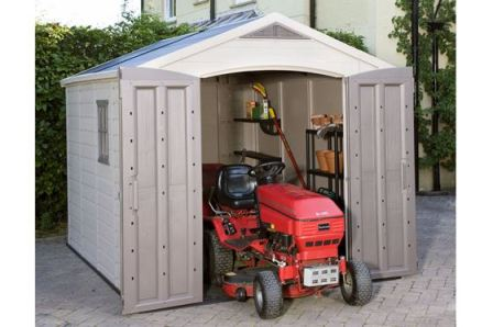 Keter Factor 8x11 Storage Shed - lots of space