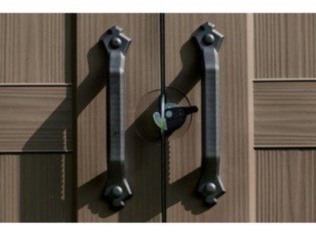 Keter Factor 8x11 Storage Shed - lockable doors
