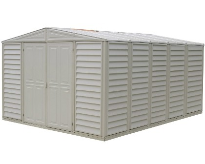 The Duramax Woodbridge Model 00584 Storage Shed