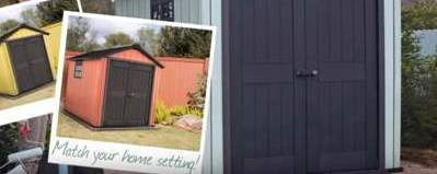 Keter Oakland 7511 Duotech Storage Shed - paintable