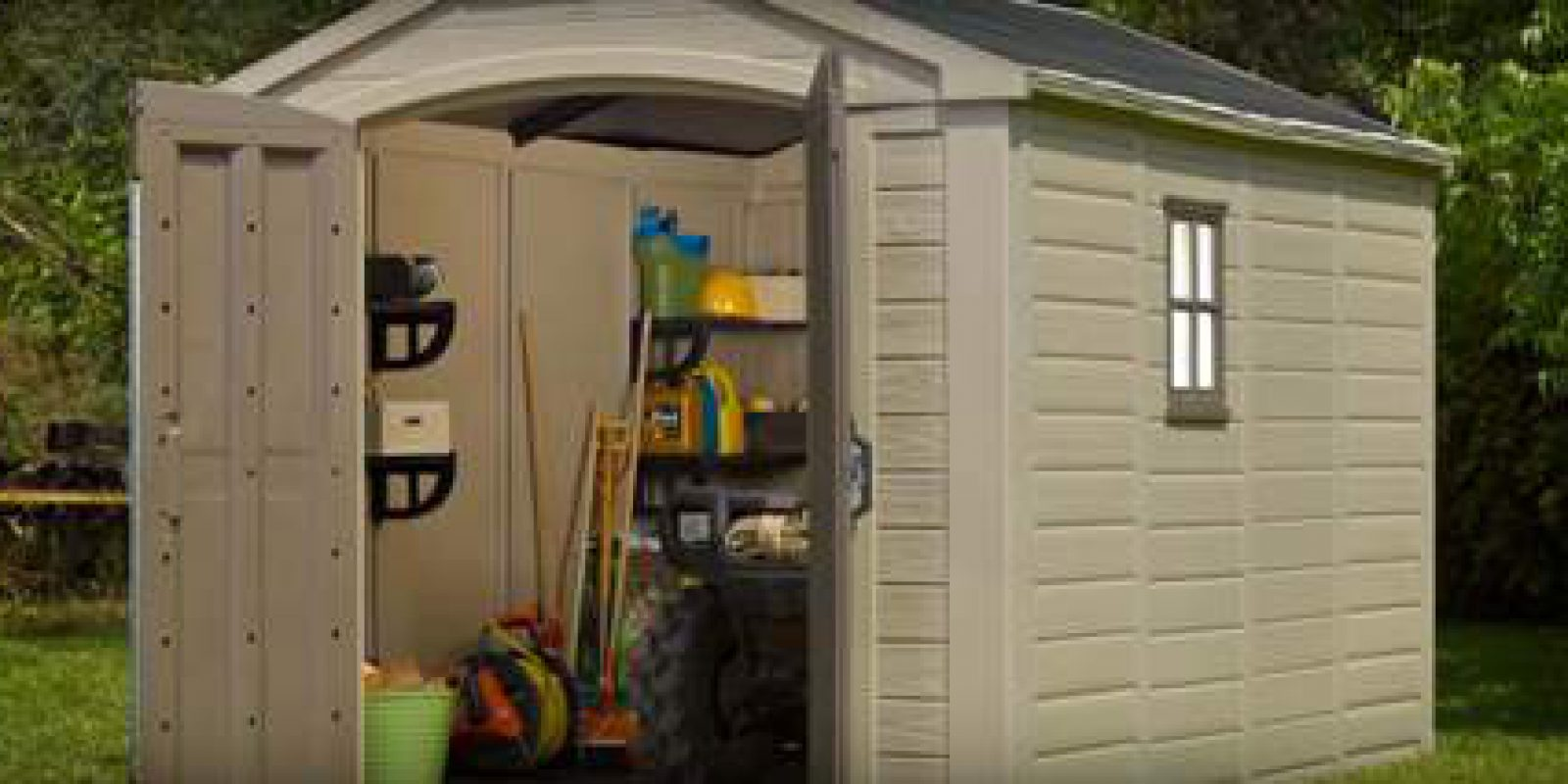 Keter Factor 8x11 Storage Shed