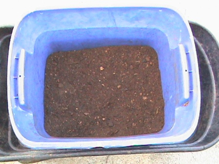 Jim's 50/50 mixture completed.