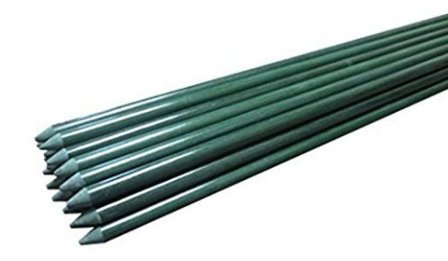 3 foot long, quarter inch diameter, fiberglass plant stakes