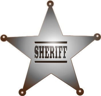 Sheriff Andy's badge