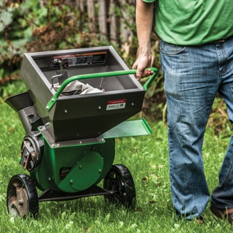 Tazz Wood Chipper Shredder - compact and portable