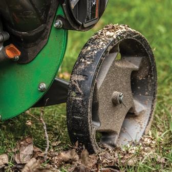 "Tazz Wood Chipper Shredder- large 11"" wheels"
