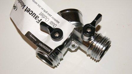 Orbit Zinc Faucet Adapter