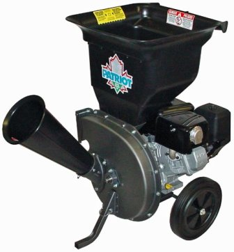 Patriot Products CSV-3100B Gas Powered Chipper Shredder