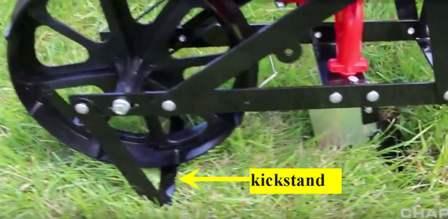 Chapin 8701B Garden Seeder - kickstand