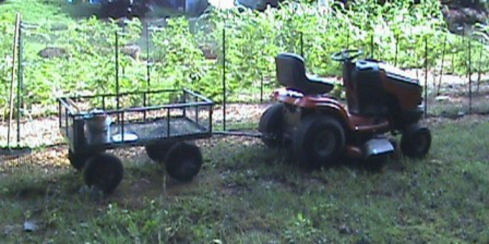 Jim's Garden Goes Growing Along!