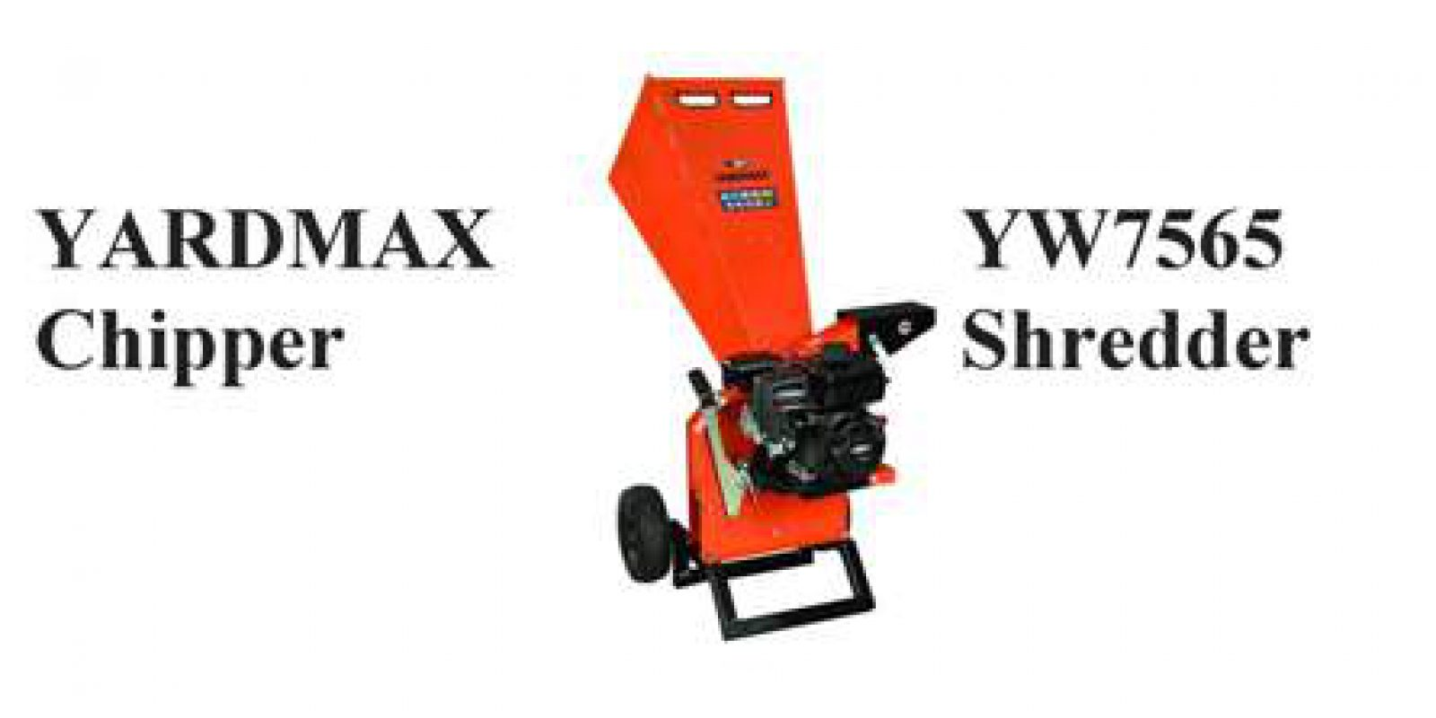 YARDMAX YW7565 Chipper Shredder