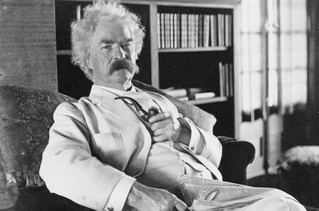 The infamous Mark Twain.