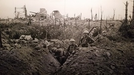 World War 1 trench warfare - a good place for trench foot.