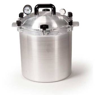 All American 25 Quart Pressure Cooker Canner