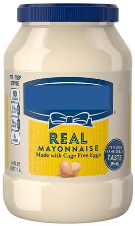 Don't use empty glass mayonnaise jars for canning.