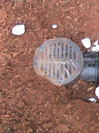 Catch basin drain