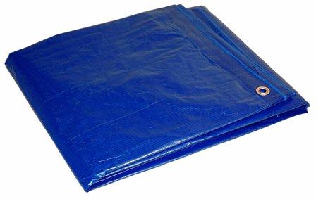 16' x 20' Blue Cut Size 5-mil Poly Tarp item #816204