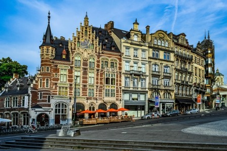 Brussels, Belgium - birthplace of Brussels sprouts.