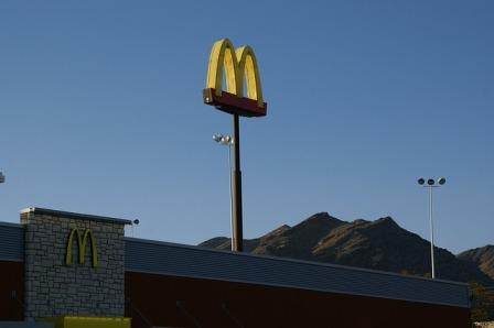 Jed visits MacDonald's.