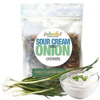 Sour Cream & Onion Crickets