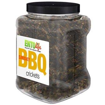 BBQ Flavored 1 lb Crickets