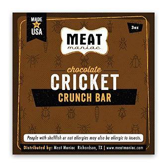 Chocolate Crunch Bar Crickets